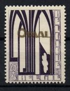 Belgium 1928 Mi. 236 COB 259 MH, Orval Abbey Reconstruction - Neufs