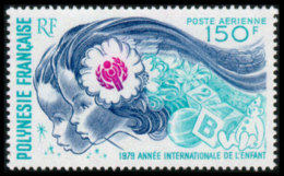 French Polynesia, 1979, International Year Of The Child, IYC, UNICEF, United Nations, MNH, Michel 284