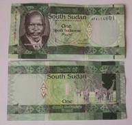 SOUTH SUDAN 1 POUND 2011 P-5 UNC - Soudan Du Sud