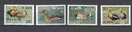 St Kitts 2005,4V,set,ducks,birds,vogels,vögel,oiseaux,pajaros,uccelli,aves,MNH/Postfris(A3119) - Unclassified