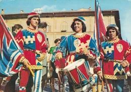 PALIO Di SIENA -Tamburino E Alfiere Pantera - F/G  Colore (120713) - Siena
