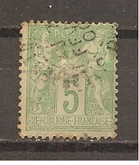 Francia-France Nº Yvert 102 (usado) (o)