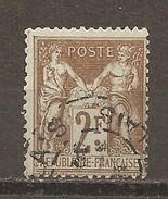 Francia-France Nº Yvert 105 (usado) (o)