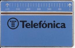 SPAIN(L&G) - Telefonica(B 005/2), CN : 606A, Tirage 52500, 06/86, Mint