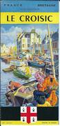 44 - LE  CROISIC - Beau Guide Touristique De 6 Pages - Tourisme