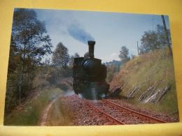 TRAIN 6256 - LIGNE DE... UN TRAIN A VAPEUR ENTRE ESPARTIGNAC ET ST JAL AVEC LA LOCOMOTIVE MALLET 020-020 T N°104 - 1964 - Trains