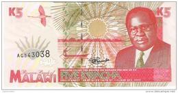 Malawi - Pick 30 - 5 Kwacha 1995 - Unc - Malawi