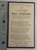 Image Religieuse - Roger Marchal Décès 11 Janvier 1927 à La Gare De Graide, à L'age De 8 1/2 Mois - - Devotion Images