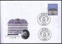 Germany Bonn 1998 / Francke Foundations In Halle / Franckesche Stiftungen Zu Halle - Architecture
