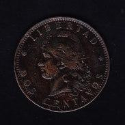 ARGENTINE KM 33, XF, 2c, 1891. (5BP45) - Argentine