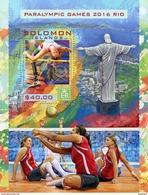 SOLOMON Isl. 2016 - Volleyball, Rio Paralympics S/S