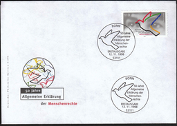 Germany Bonn 1998 / 50 Years Of Universal Declaration Of Human Rights - Other