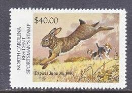 U.S. S 17  STATE  N. CAROLINA  SPORTMAN'S  STAMP  ** - Duck Stamps