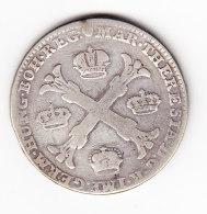 AUSTRIAN NETHERLANDS AD USUM BELGII, KM 21, 1766 1 KT, XF SILVER. (B372) - Belgique
