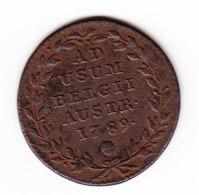 AUSTRIAN NETHERLANDS AD USUM BELGII, KM 31, 1789 2 LI, XF. (B385) - Belgique