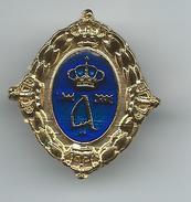 Royal Monogram Of Crown Prince Alexander Of Serbia.badge - Celebrities