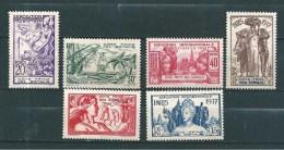 Timbres Des Cote De Somalis   De 1937  N°141 A 146  Neufs  * - French Somali Coast (1894-1967)