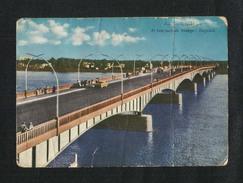 IRAQ Picture Postcard AL Jumhuriyah Bridge Baghdad  View Card CONDITION AS PER SCAN - Arabie Saoudite