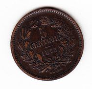 LUXEMBOURG KM 22.2, UNC, 5c,  1855A . (APV12) - Luxembourg
