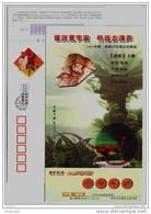 Sinosauropteryx Prima Dinosaur Fossilu,CN 2008 Chaoyang Treasure-House Of Fossil On Earth Advertising Pre-stamped Card - Vor- U. Frühgeschichte