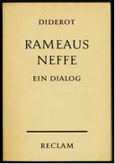 Reclam Heft  -  Rameaus Neffe / Ein Dialog  -  Von Diderot  -  1967 - Livres, BD, Revues