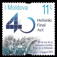 Moldova 2015 Mih. 918 Helsinki Final Act MNH ** - Moldavia