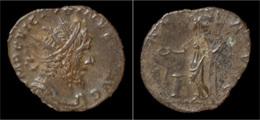Victorinus Billon Antoninianus Salus Standing Left - 5. L'Anarchie Militaire (235 à 284)