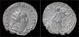 Valerian I AR Antoninianus Victory Standing Left - 5. L'Anarchie Militaire (235 à 284)