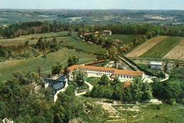 Juignac Abbaye Sainte Marie De Maumont Vue Generale Aerienne 1968 CPM Ou CPSM - Frankrijk