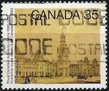 Canada 1980 - The Parliament : Painting By Thomas Fuller ( Mi 763 - YT 730 )