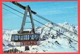 CPM-(Savoie)-Tignes Savoie-Alt-2100 M-Grande MOTTE  - 3656m. - Telecabine - - Other Municipalities