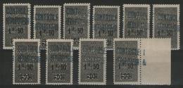 ALGERIE:  C.P.n°17 ** X10ex.       - Cote 36,50€ - - Algérie (1924-1962)