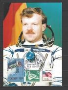 USA - Sonderkarte Mir Docking Mission Stempel Houston 20.2.1997 - Storia Postale