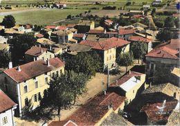 En Avion Au-dessus De Malissard (Drôme) - Vue Générale Et Centre - Edition Lapie - Carte Colorisée N° 4 Non Circulée - Frankreich