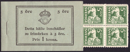 Sweden BK H020 A1c O** 1934  Stading Lion (20 Ore) C155 -MNH- - Boekjes