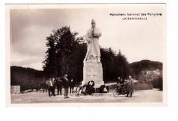 Suisse Monument National Des Rangiers La Sentinelle Cpa Animée Timbre + Cachet 1924 - JU Jura