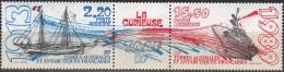 TAAF 1989 Yvert Poste Aérienne 106A Neuf ** Cote (2015) 8.40 Euro Navire La Curieuse - Poste Aérienne