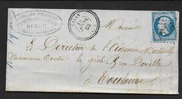 Hautes Pyrénées - G.C. 1615  Et Cachet Type  22  GALAN - 1849-1876: Classic Period