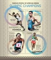 Z08 UGN13119a UGANDA 2013 Olympic Champions MNH - Uganda (1962-...)