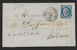 Hautes Pyrénées - G.C. 149  Et Cachet Type  17  ARGELES DE BIGORRE - Poststempel (Briefe)