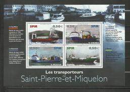 St -Pierre Et Miquelon BLOC N°10 Neuf** Cote 6 Euros - Blocchi & Foglietti