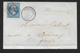 Hautes Pyrénées - G.C. 3009  Et Cachet Type  15  POUYASTRUC - 1849-1876: Classic Period