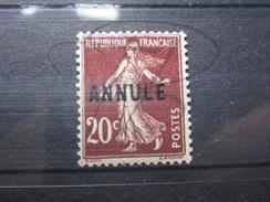 BEAU TIMBRE DE COUR D'INSTRUCTION DE FRANCE N° 139-CI , XX !!!