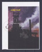 Belgie - Belgique ZNE12 - Gekleurd Velletje Uit Boek Leodiphilex 2004  -  BL111 - Feuillets Noir & Blanc
