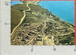 CARTOLINA VG ITALIA - THARROS (OR) - Veduta Aerea - Panorama - 10 X 15 - ANN. 1976 - Oristano