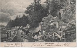 CANADA  QUEBEC   CHEMIN DE SILLERY  EN 1906 - Sherbrooke