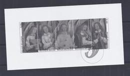 Belgie - Belgique GCB10 - Zwart-wit Velletje Uit Jaarboek 2006  -  Kerstzegels 3589/93  - NIET GEKWOTEERD