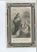 MARIE F L ROPPE + OREYE 1868 24 ANS IMP WAREMME MOUREAU - Devotion Images