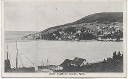 CANADA  QUEBEC    INNER HARBOUR GASPE - Gaspé