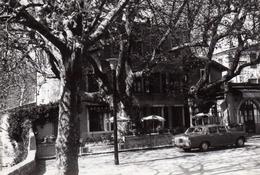 CPA - 83 - La Roquebrussanne - La Place - 1963 - La Roquebrussanne